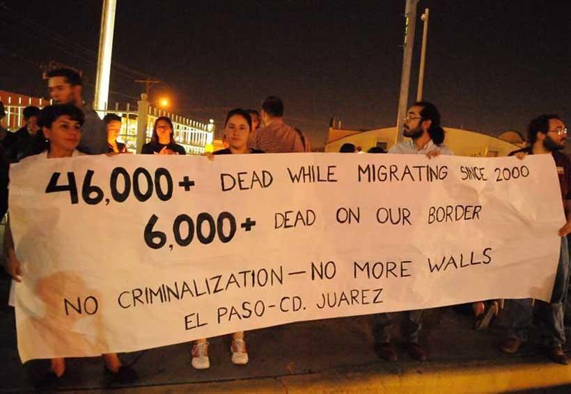 Realizan vigilia en Juárez por migrantes muertos en la frontera de México con EU | El Imparcial de Oaxaca