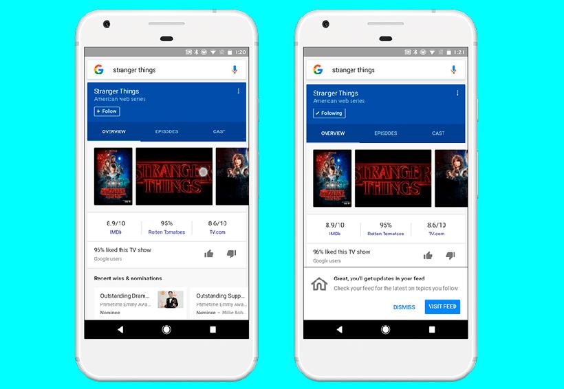 Google actualiza su app con un feed para que puedas personalizar el flujo de noticias | El Imparcial de Oaxaca