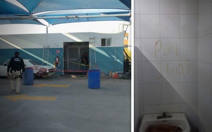Hallan muerta a mujer en baño de autolavado; había un mensaje escrito en la pared | El Imparcial de Oaxaca