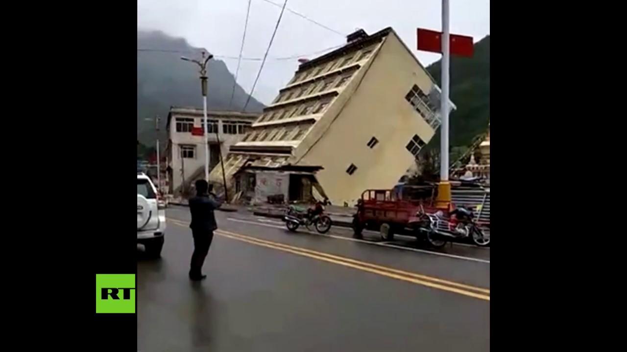 Un río 'se lleva' un edificio de 5 plantas en China | El Imparcial de Oaxaca