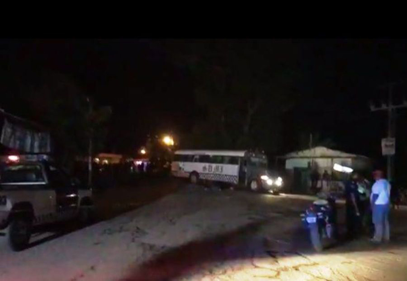 Tráiler impacta a urbano y mata  a dos escolares en Tuxtepec | El Imparcial de Oaxaca