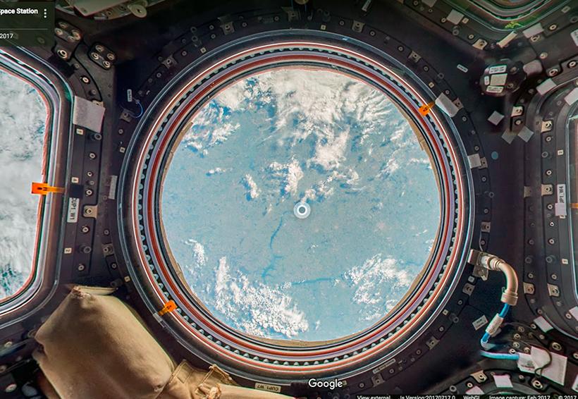 Google Street View arribó a la Estación Espacial Internacional   El Imparcial de Oaxaca
