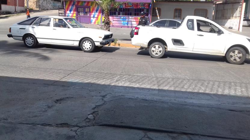 Colisionan una  patrulla auxiliar  en Salina Cruz | El Imparcial de Oaxaca