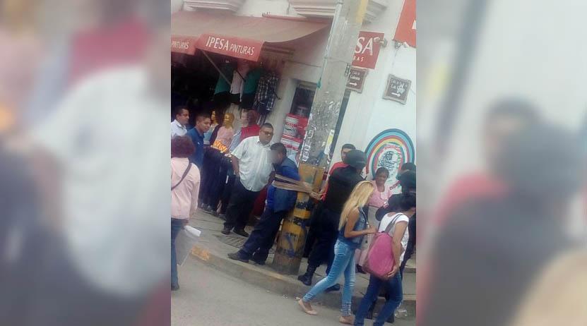 ¡Amarrado a poste! en Oaxaca | El Imparcial de Oaxaca