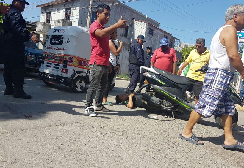 Impacta camioneta a motociclistas en Juchitán | El Imparcial de Oaxaca