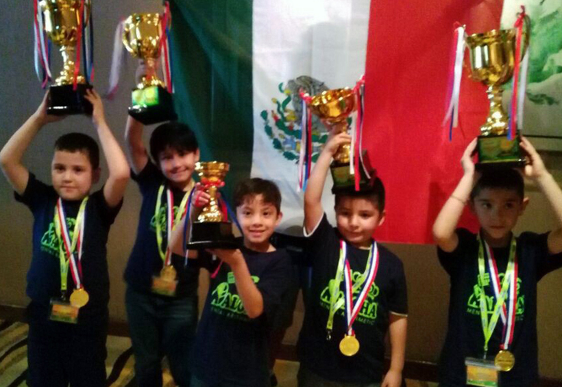 Pequeños gigantes mexicanos triunfaron en campeonato internacional de matemáticas | El Imparcial de Oaxaca