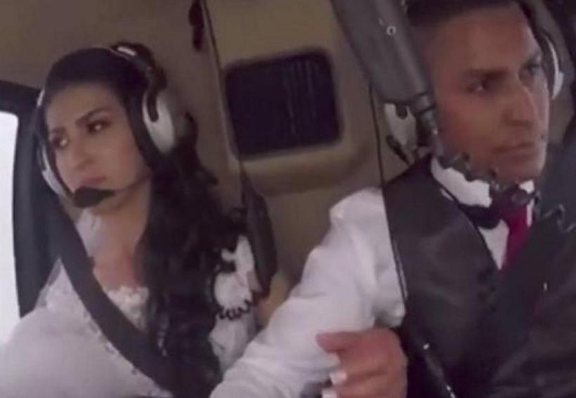 Revelan video del trágico accidente de novia que viajaba en helicóptero   El Imparcial de Oaxaca