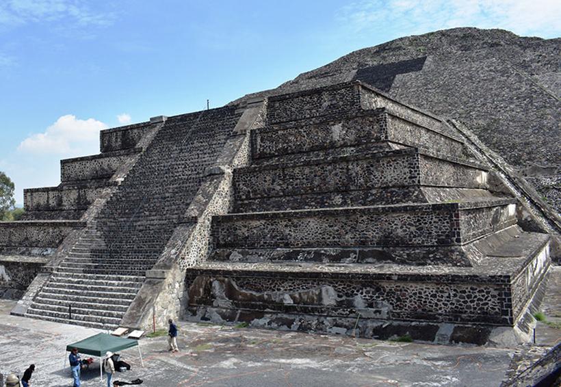 Descubren túnel en la Pirámide de la Luna que sería una representación del inframundo   El Imparcial de Oaxaca