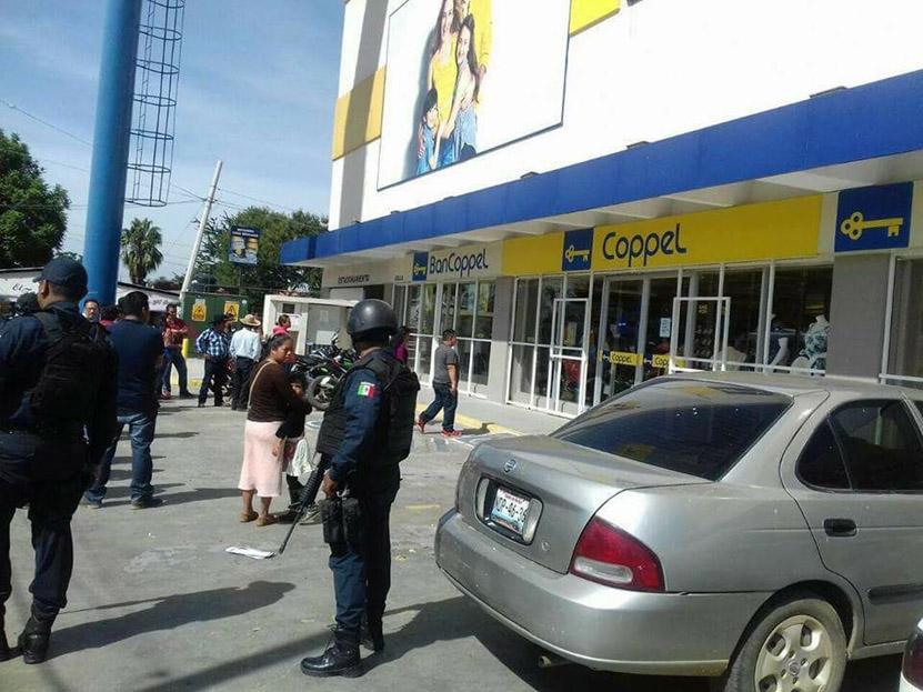 ¡Asaltan Coppel! en  Xoxocotlán | El Imparcial de Oaxaca