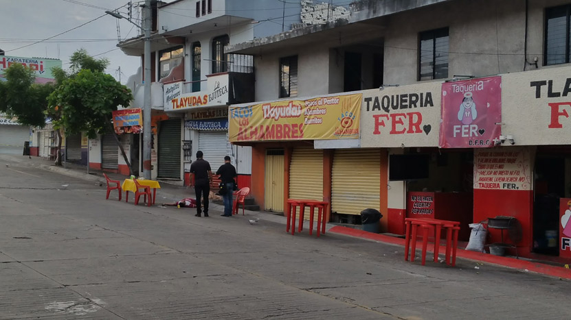 ¡Asesinan a taquero! en Puerto Escondido | El Imparcial de Oaxaca