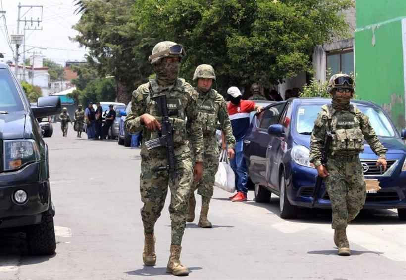 Marina realiza patrullaje en tianguis de Iztapalapa tras balacera | El Imparcial de Oaxaca