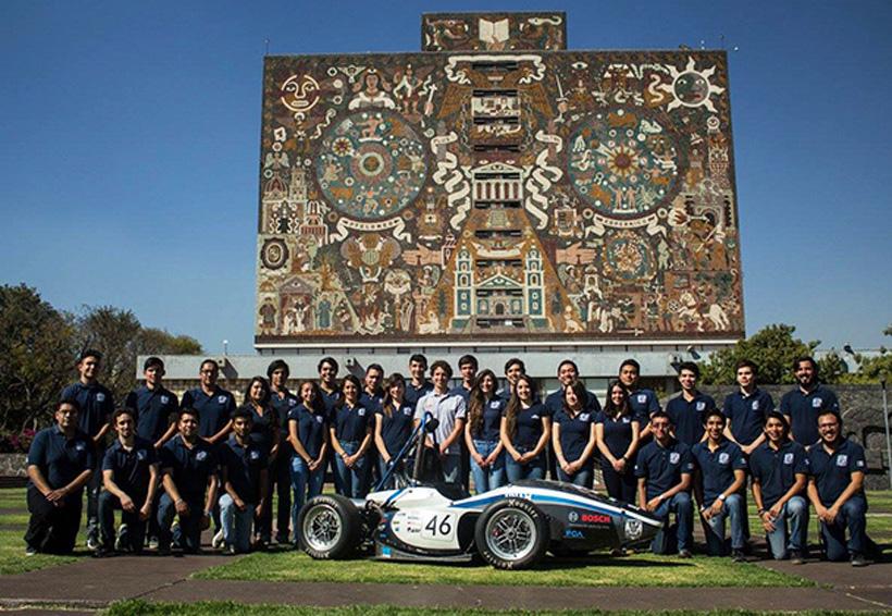La UNAM correrá en Europa dentro de la Formula SAE   El Imparcial de Oaxaca