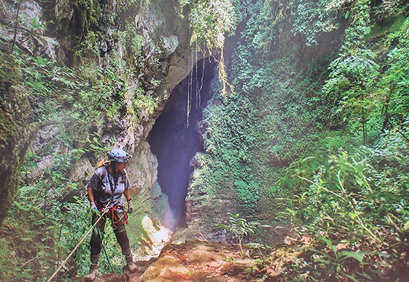 Muestra fotográfica  de grutas de Huautla concluye hoy   El Imparcial de Oaxaca