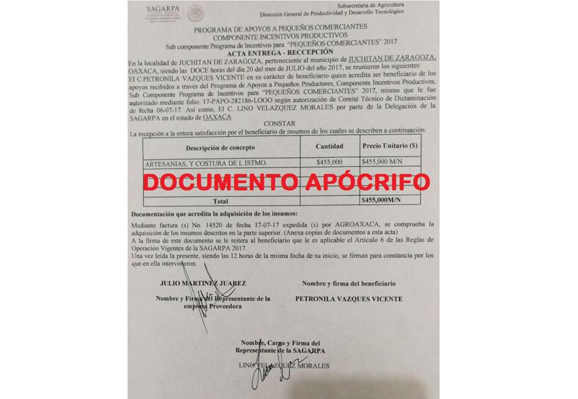 Alerta Sagarpa sobre fraudes en proyectos productivos en el Istmo | El Imparcial de Oaxaca