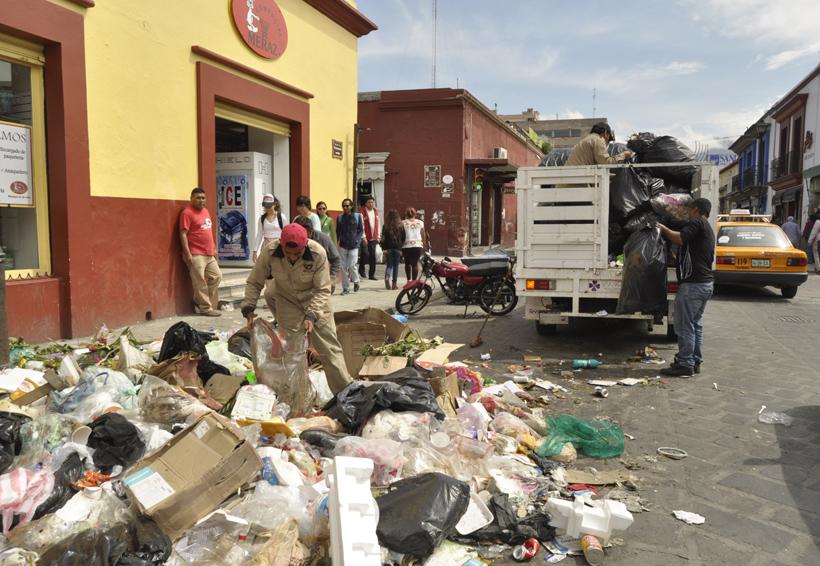 Se acumulan toneladas de basura en Oaxaca | El Imparcial de Oaxaca