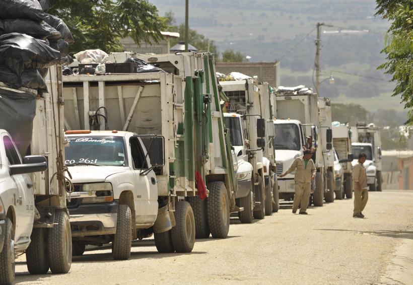 En unos días se podría restablecer recolección de basura en Oaxaca | El Imparcial de Oaxaca