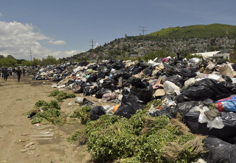 Expide fuertes olores la descomposición de basura en Riberas del Atoyac | El Imparcial de Oaxaca