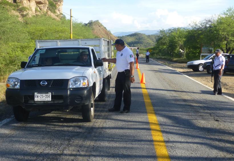 En Oaxaca refuerzan seguridad en carreteras 135 y 182 | El Imparcial de Oaxaca