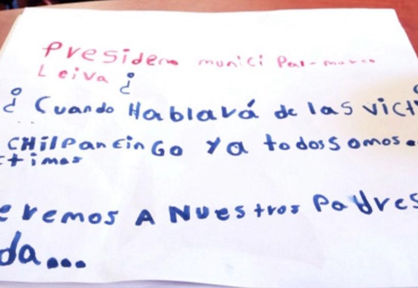 Niños de Chilpancingo exigen a Peña y a Héctor Astudillo que encuentren a sus familiares desaparecidos | El Imparcial de Oaxaca