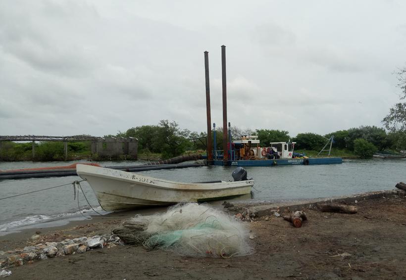 Suspenden obra de dragado en San Dionisio del Mar | El Imparcial de Oaxaca