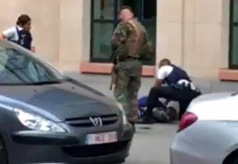 Hombre ataca con cuchillo a soldados en Bélgica | El Imparcial de Oaxaca