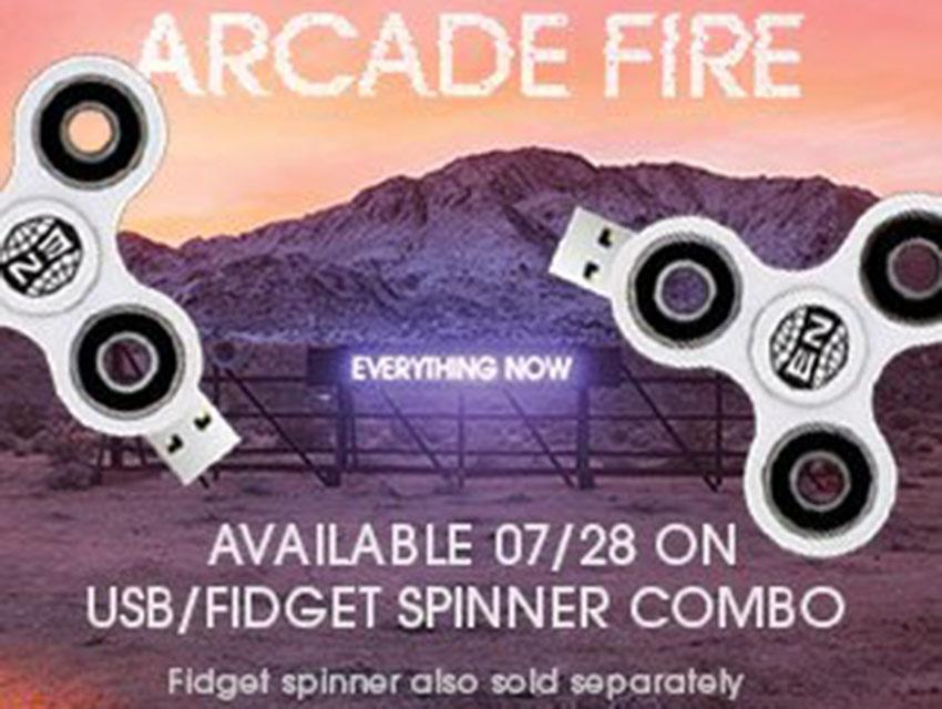 Arcade Fire vende sus propios 'spinners' por 110 dólares | El Imparcial de Oaxaca