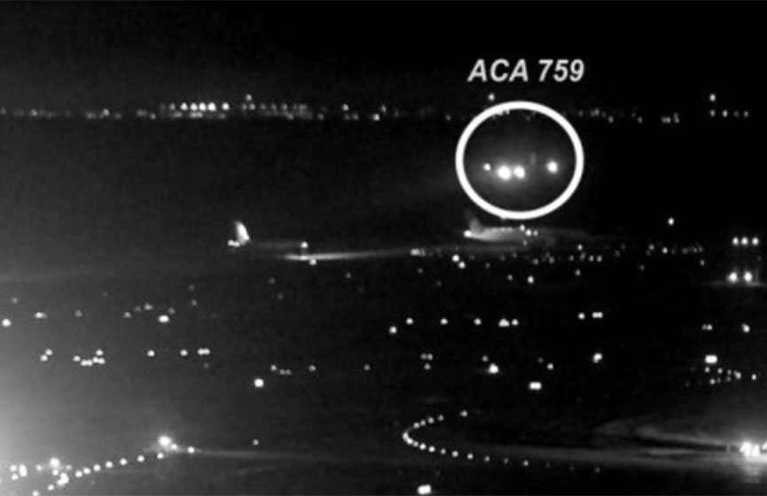 Revelan imágenes de dos aviones que rozaron alas en Toronto | El Imparcial de Oaxaca