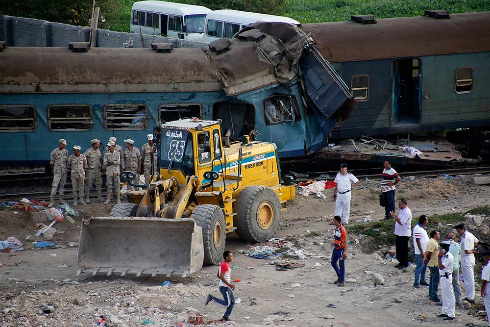 Aumentan a 41 los muertos por choque de trenes en Egipto | El Imparcial de Oaxaca