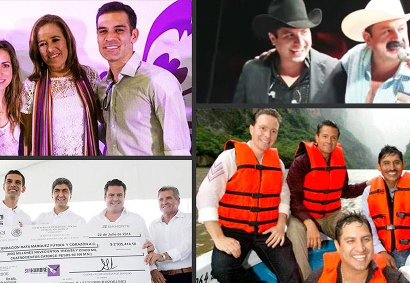 """Los políticos, sobre todo del PRI, PVEM y PAN, abrieron sus brazos a """"Rafa"""" Márquez como a """"Julión""""   El Imparcial de Oaxaca"""