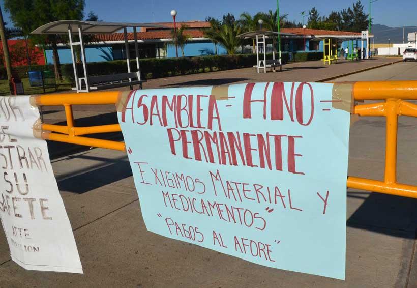 Prevén hoy levantar el paro en el Hospital de la Niñez en Oaxaca   El Imparcial de Oaxaca