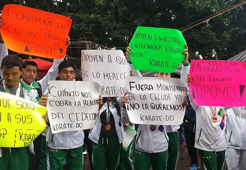 Deportistas oaxaqueños exigen salida de titular de la CECUDE | El Imparcial de Oaxaca