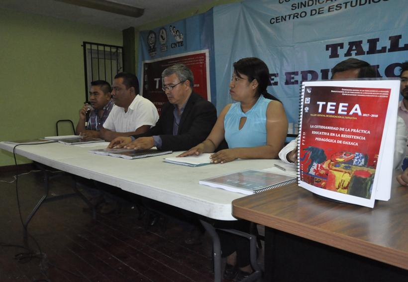 Presenta Sección 22 alternativa a la Reforma Educativa   El Imparcial de Oaxaca