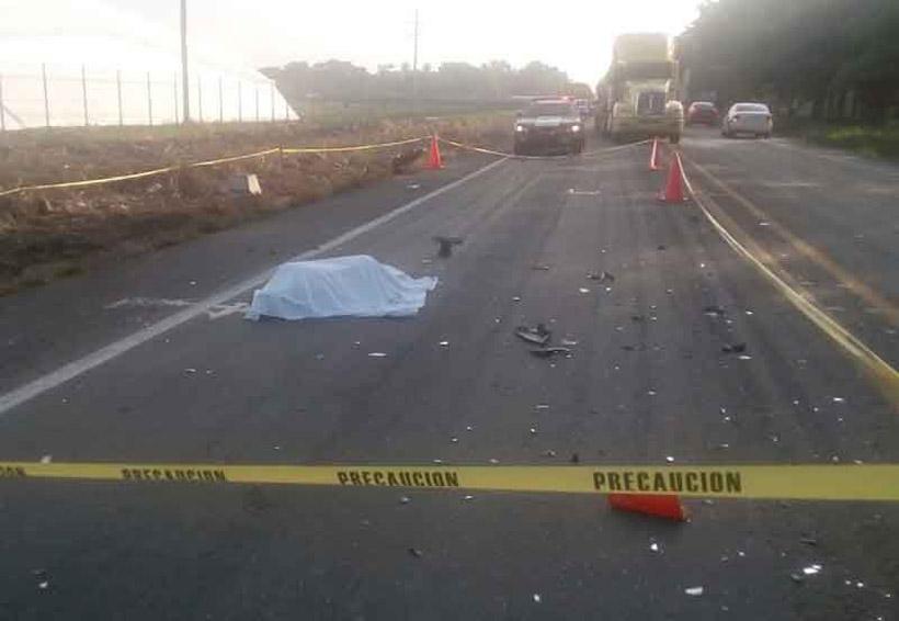 ¡Muere motociclista tras violento impacto! | El Imparcial de Oaxaca