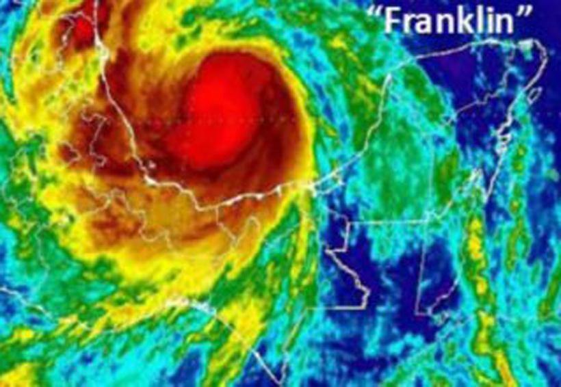Franklin ya es huracán categoría 1; plan de contingencia en Veracruz   El Imparcial de Oaxaca
