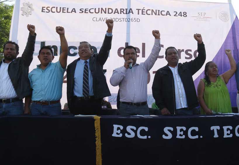 En Oaxaca la Sección 22 anunció su plan alterno   El Imparcial de Oaxaca