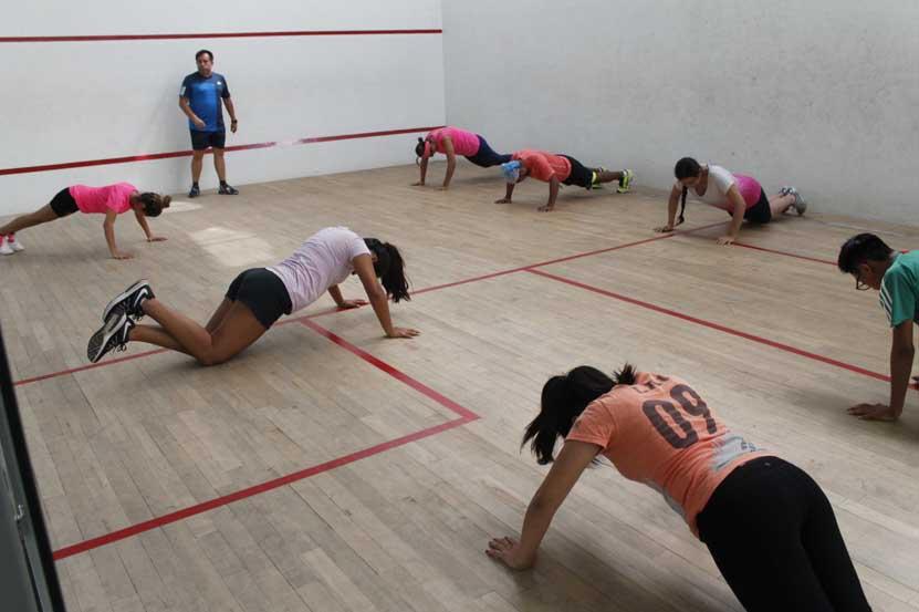 Concluye con éxito  la Clínica de Squash | El Imparcial de Oaxaca