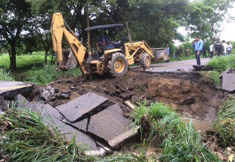 Avanza rehabilitación de carreteras y caminos en Oaxaca | El Imparcial de Oaxaca