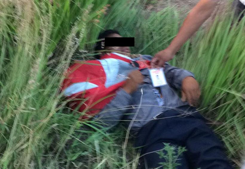 Auxilian a cobrador accidentado en Lachigoló, Oaxaca   El Imparcial de Oaxaca