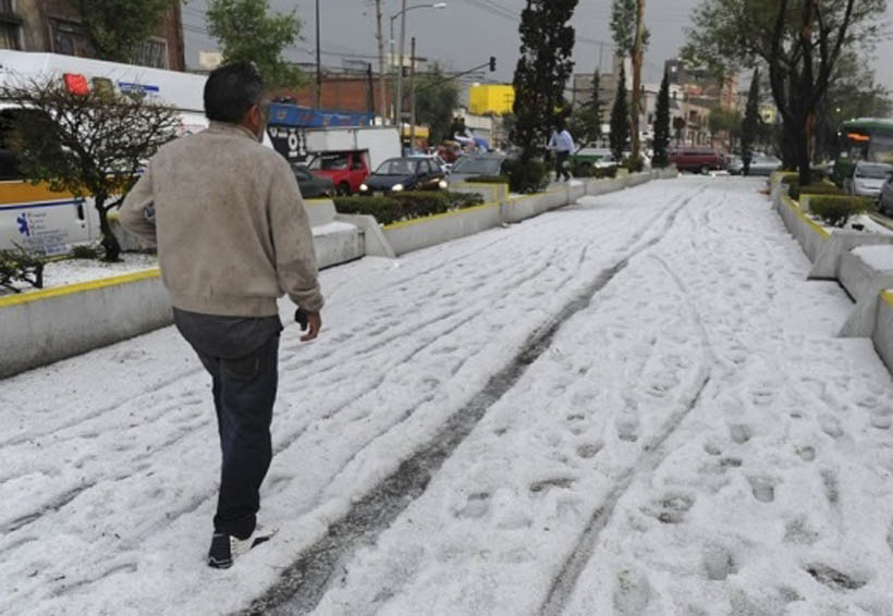 Fuerte granizada en el Valle de México | El Imparcial de Oaxaca
