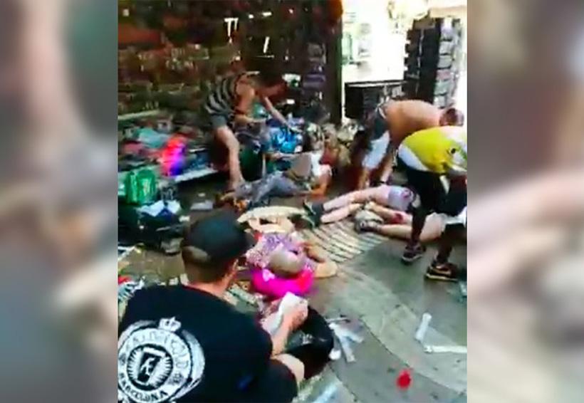 Video: Atropellamiento masivo en Barcelona, lo califican como acto terrorista | El Imparcial de Oaxaca