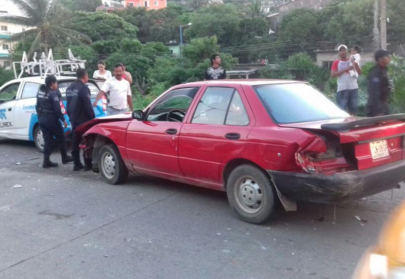Taxista ebrio provoca carambola en Salina Cruz, Oaxaca   El Imparcial de Oaxaca