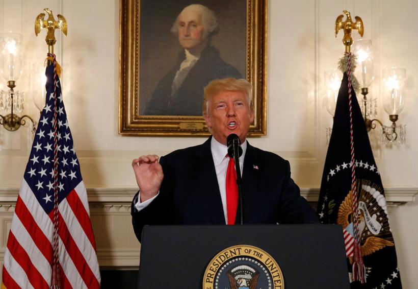 Trump expresó que 'el racismo es malvado' tras incidente de Virginia | El Imparcial de Oaxaca