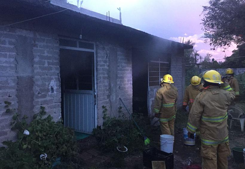 Arde vivienda en Huajuapan de León, Oaxaca | El Imparcial de Oaxaca