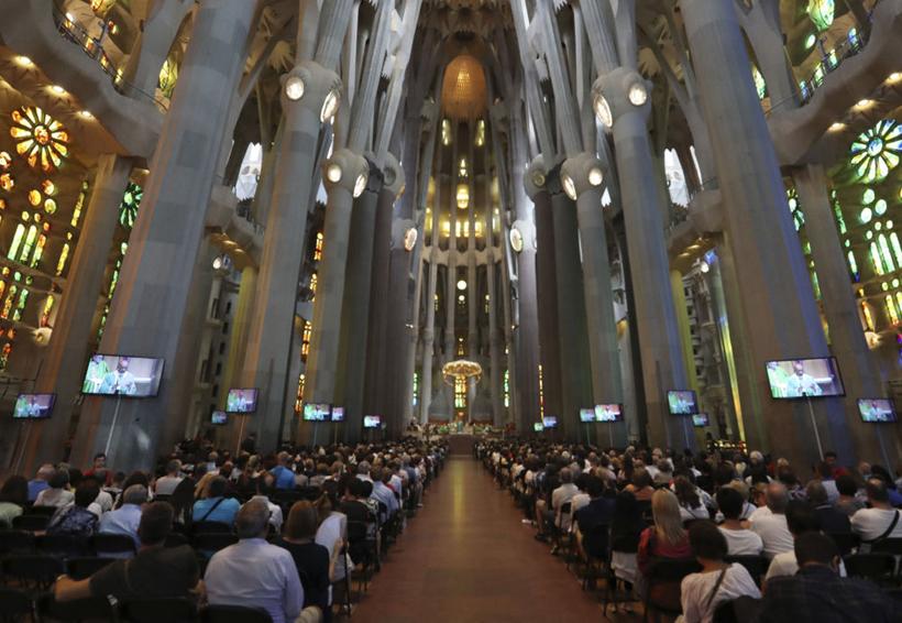 Barcelona homenajea con misa a las víctimas de los atentados terroristas | El Imparcial de Oaxaca