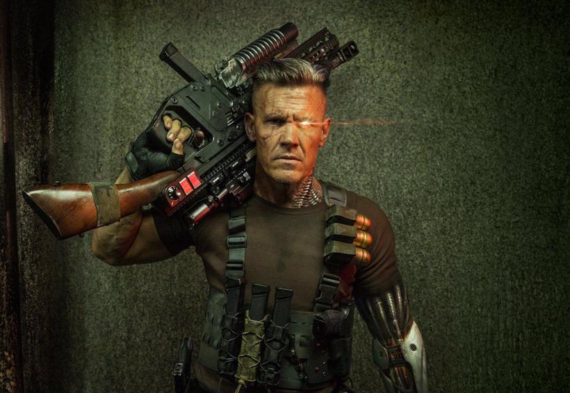 Dan a conocer primeras imágenes de Josh Brolin como Cable en 'Deadpool 2' | El Imparcial de Oaxaca