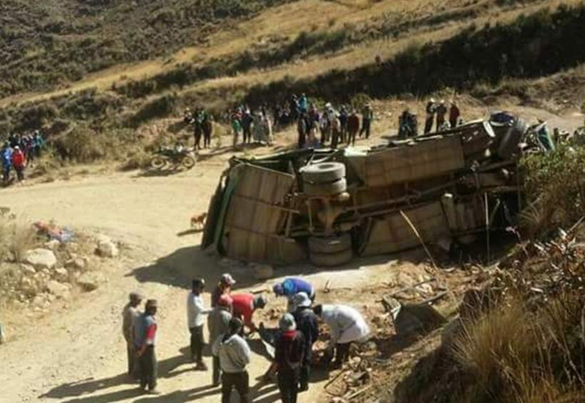 Accidente de autobús en Bolivia deja al menos 11 muertos | El Imparcial de Oaxaca