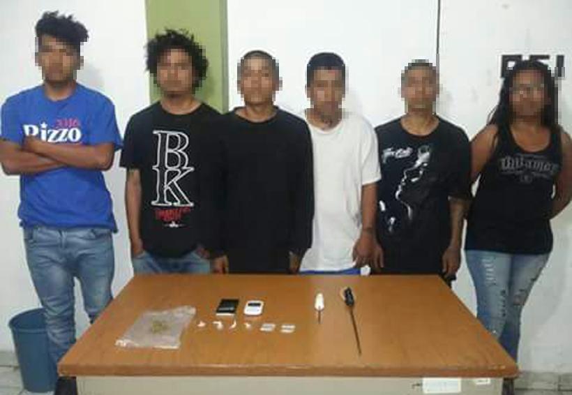 Detienen a seis personas con droga y armas en Huajuapan, Oaxaca | El Imparcial de Oaxaca