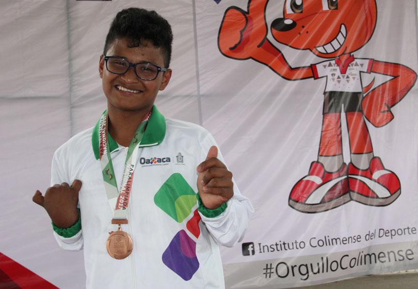 Zetina Herrera sube una vez más al podio en la Paralimpiada Nacional 2017 | El Imparcial de Oaxaca