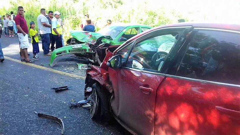 Aparatoso accidente en Santiago Jamiltepec | El Imparcial de Oaxaca