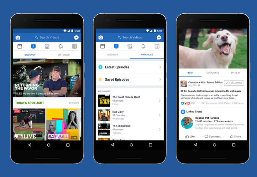Así es Facebook Watch, la nueva competencia a YouTube | El Imparcial de Oaxaca